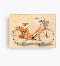Love Holland, Love Bike Metal Print