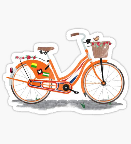 Love Holland, Love Bike Sticker