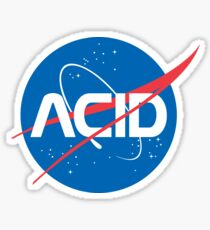 Acid vs Nasa Sticker