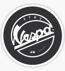 STAY VESPA Sticker