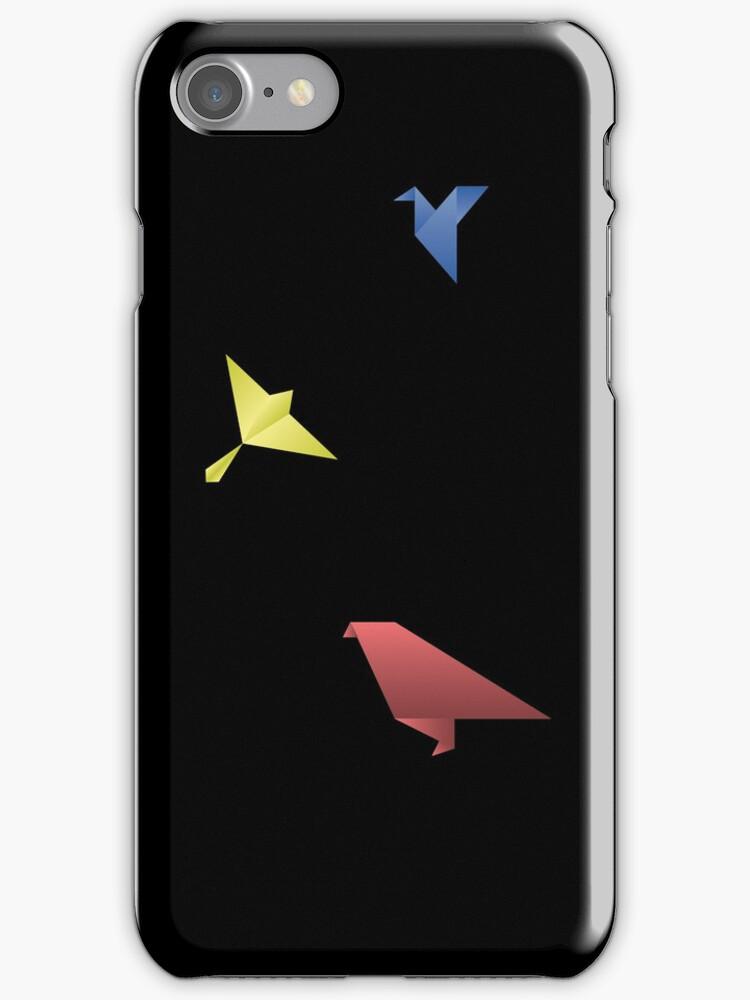 Origami Birds by misterpep
