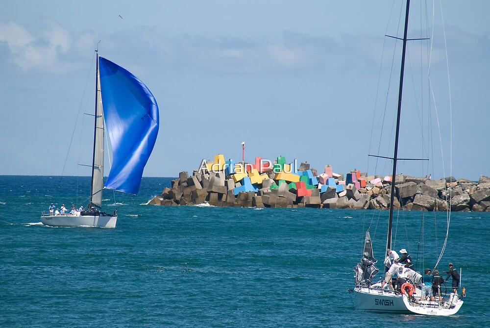 Pittwater to Coffs Sailing Regatta 2013 by Adrian Paul