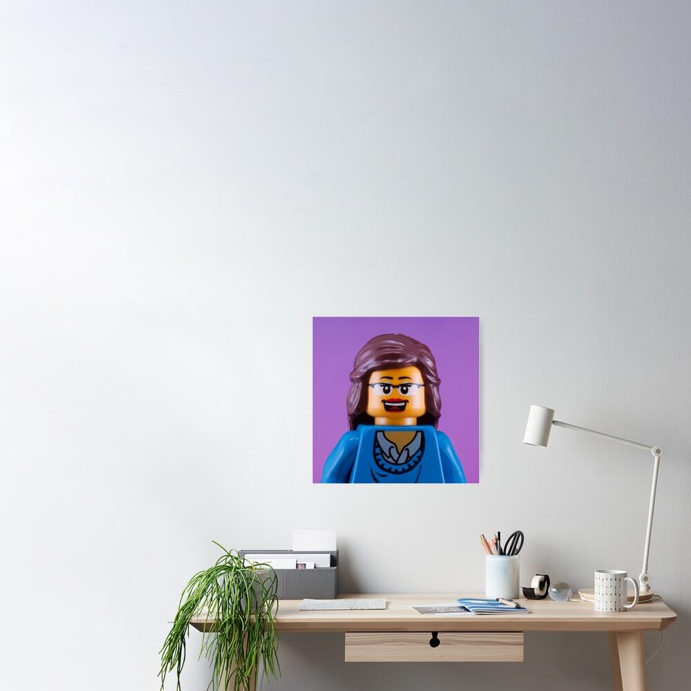 Liz Lemon/Tina Fey Portrait Poster