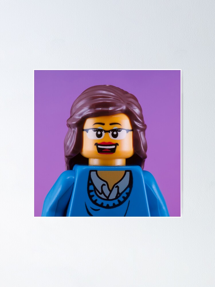Alternate view of Liz Lemon/Tina Fey Portrait Poster