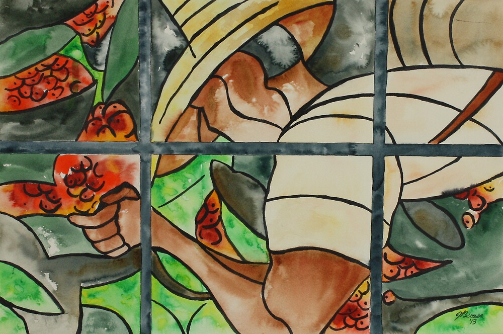 Stained Glass Window by Joyce Sousa