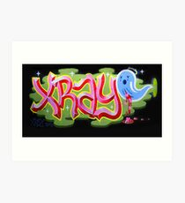 """Bubblegum XRAY & Sad Ghost"" Art Print"