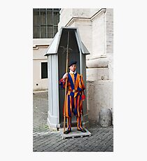 Security In The Vatican Photographic Print