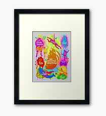 """Your Own Adventure"" Framed Print"