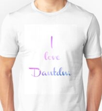 I Love Dantdm Unisex T-Shirt