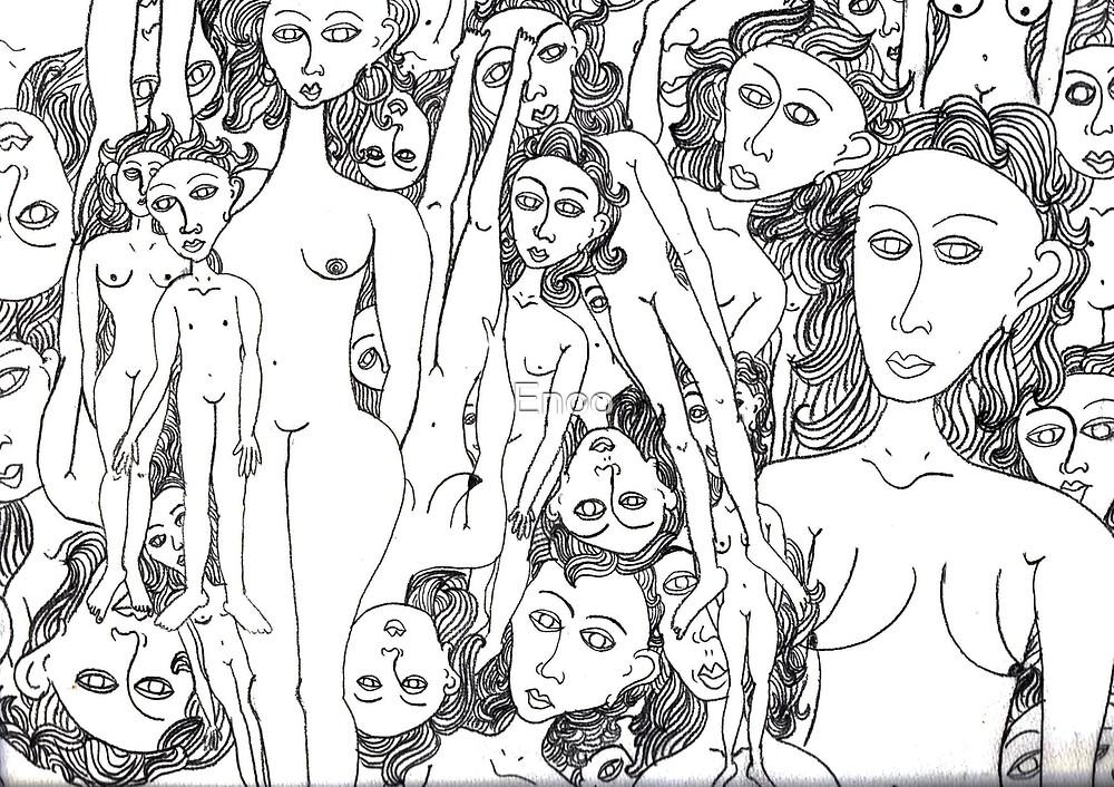 Femmes  by Enoo
