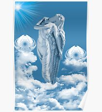 ๑۩۞۩๑ ANGEL STEPS WALKING IN CLOUDS ๑۩۞۩๑ Poster