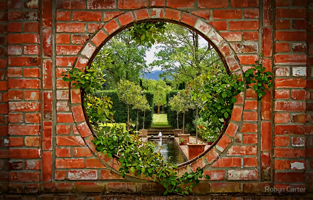 A Window to the Garden by Robyn Carter