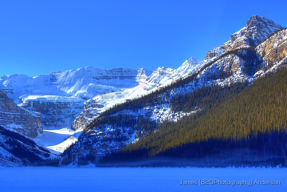 Snow Spirit of Lake Louise? by James Anderson