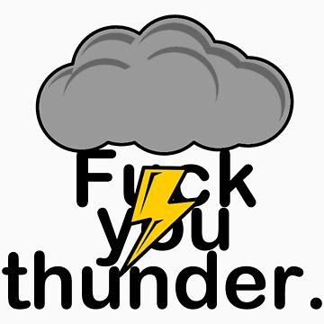 Thunder Buddy by jamesdbanks1981