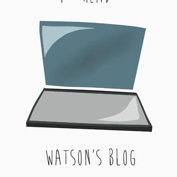 I read Watson's blog. by ahahanna
