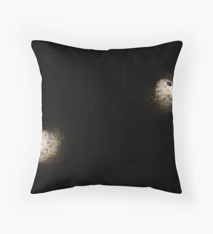 Stargazer Eyes Throw Pillow