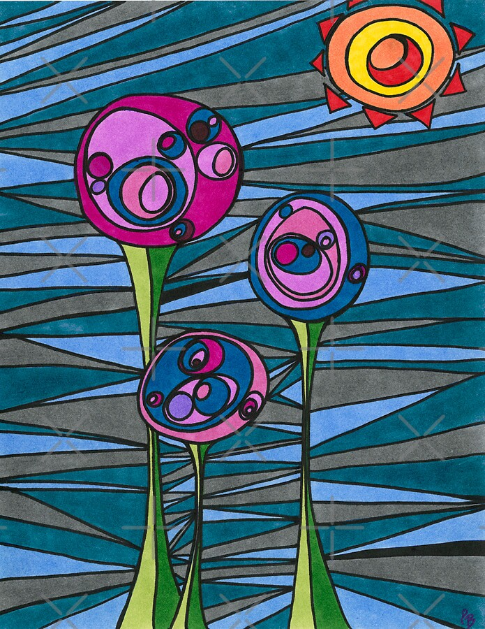Lolly Pods art print by EpicBlossoms