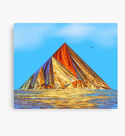 Pyramid Mountain No 2 Canvas Print