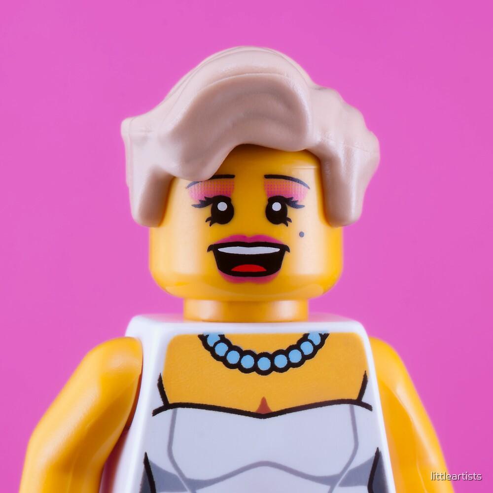Marilyn Monroe Portrait by littleartists