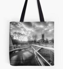 Derby Cathedral Footbridge Tote Bag