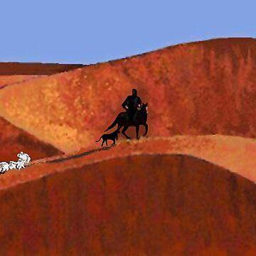 Navajo Sheep Herder by ckbesq