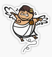 Fat Kid Icarus Sticker