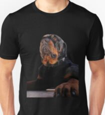 Regal and Proud Male Rottweiler Portrait Isolated Unisex T-Shirt