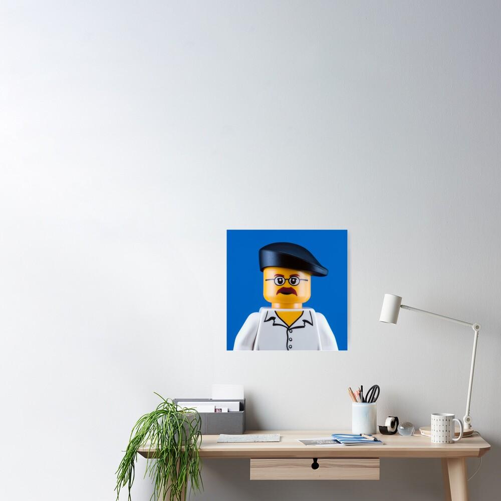 Jamie Hyneman Portrait Poster