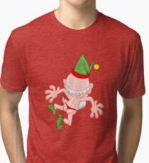 Verrückte Elf Vintage T-Shirt