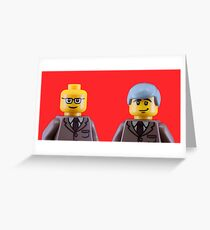 Gilbert and George Greeting Card