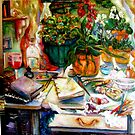 Tools of the Trade, Artist's Landscape by Barbara Sparhawk