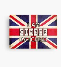 I AM CUMBERBATCHED (UK Edition) Metal Print