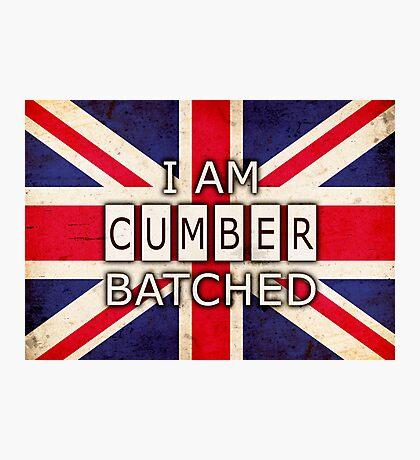 I AM CUMBERBATCHED (UK Edition) Photographic Print