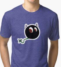 VILLAN DEVIL Character  TEE  Tri-blend T-Shirt