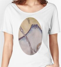 Japanese Mountain Women's Relaxed Fit T-Shirt