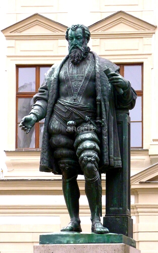 H.J. Fugger Statue ~ Augsburg by ©The Creative  Minds