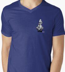 Just Vivi - Monochrome sml Mens V-Neck T-Shirt