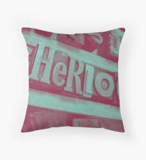 Sherlock ~ Skulls Throw Pillow