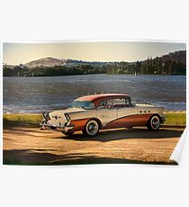 1956 Buick 3 Poster