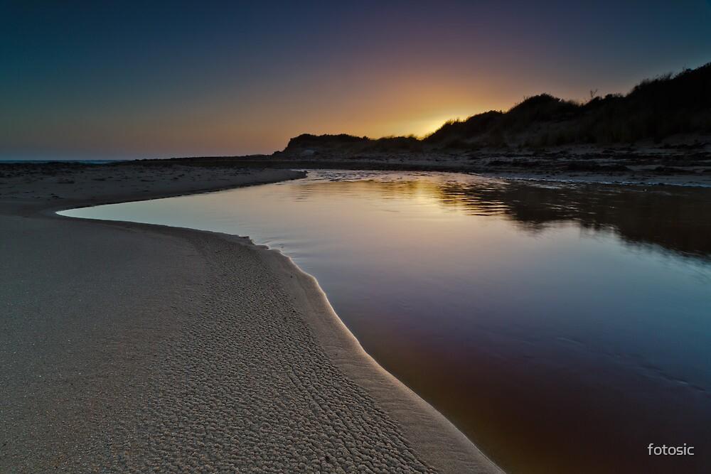 Cimitere Creek, East Beach, Low Head, Tasmania by fotosic