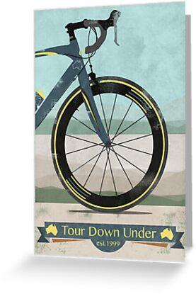 Tour Down Under Bike Race by Andy Scullion
