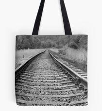 On The Tracks Tote Bag
