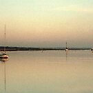 Sunset on the River Crouch, Essex, UK by Elana Bailey