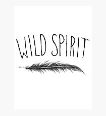 Wild Spirit Photographic Print