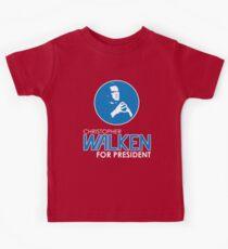 Christopher Walken For President Kids Tee