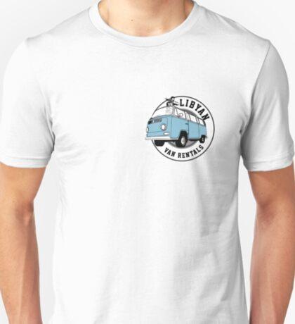 Back to the Future 'Libyan Van Rentals' Logo T-Shirt