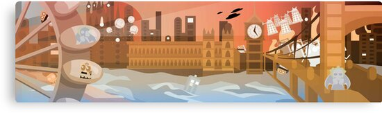 London Under Attack by everchangingINK