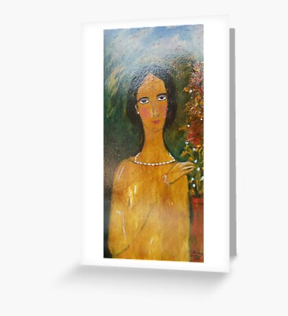 """""""lace and finery"""" Greeting Card"""