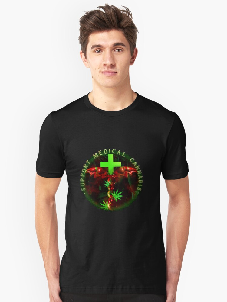 Support Medical Cannabis  by Valxart