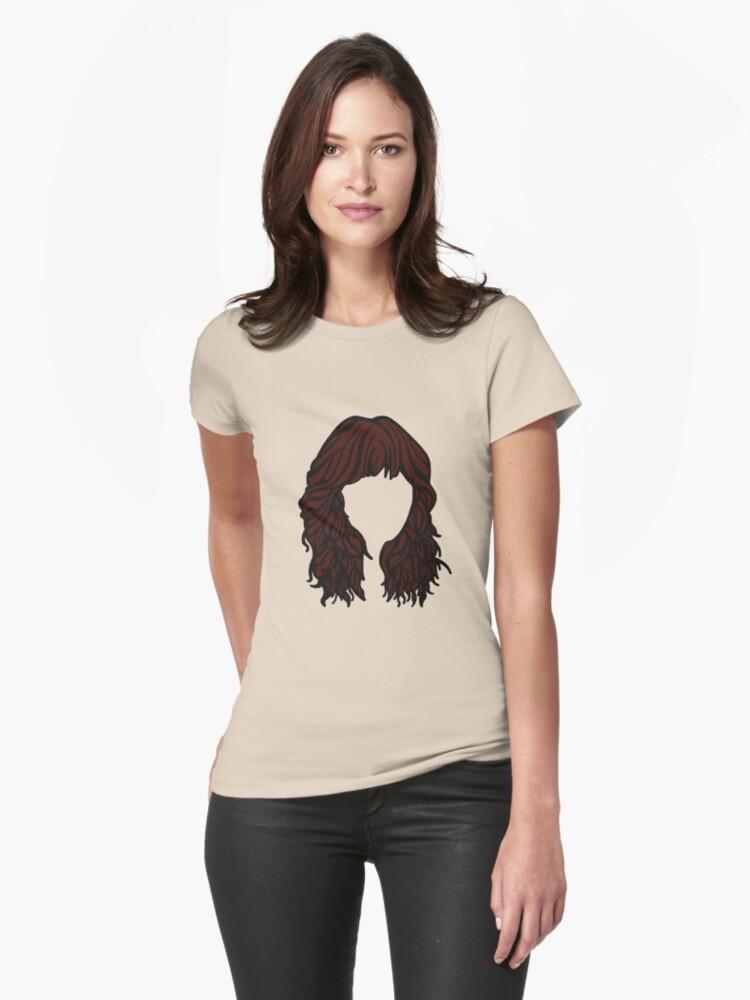 Zooey Deschanel Hair  by Kristen Lafleche